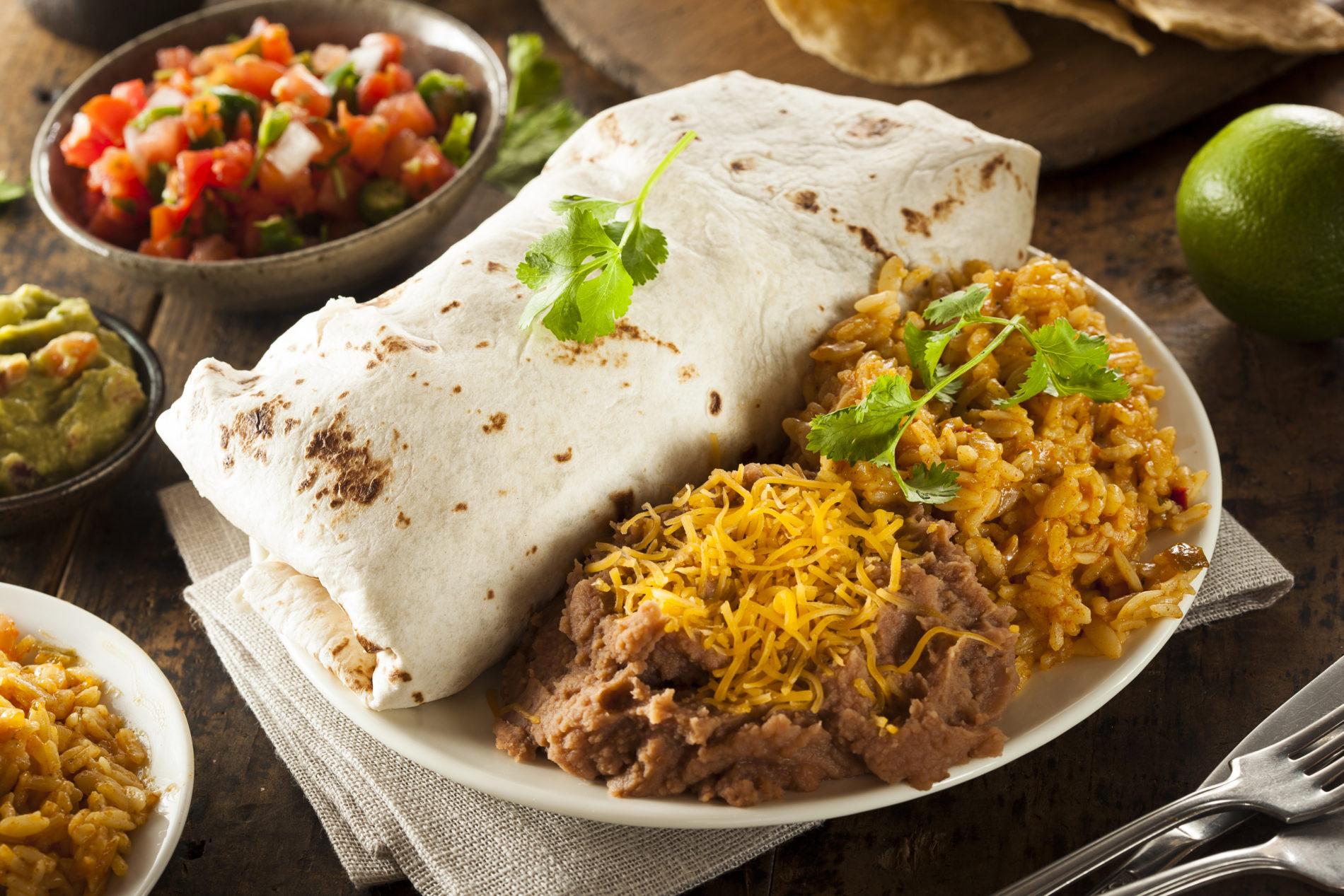 "Rudy's 10"" Burrito Flour  Tortillas 6/24CT"