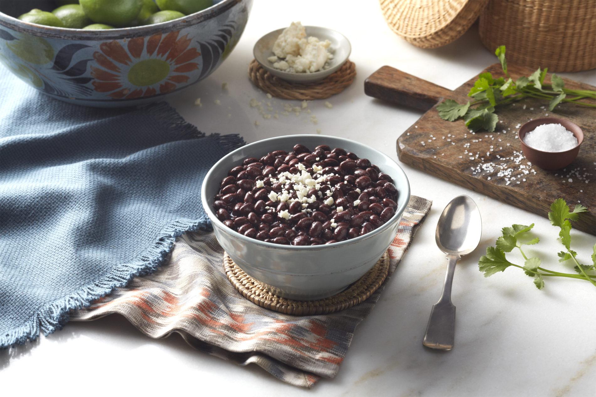 Organic Black Beans, 50LB Bag/1000LB Tote